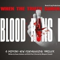 Antony Costa Will Star In BLOOD RUNS DEEP Premiering At The Epstein Theatre Photo