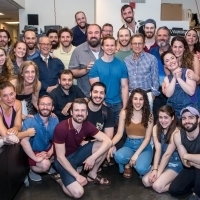 Photo Flash: Mikhail Baryshnikov Visits FIDDLER ON THE ROOF in Yiddish