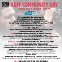 American Black Film Festival Presents Community Day Showcase, June 16