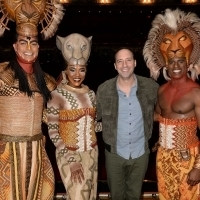 Photo Flash: Tony Hale Attends Toronto Opening of THE LION KING Photos
