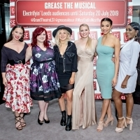 Photo Flash: The Cast of the UK and Ireland Tour of GREASE Meet the Press Photo