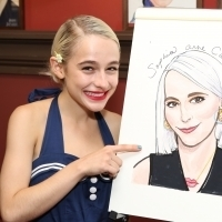 Photo Coverage: Sophia Anne Caruso Honored With Sardi's Portrait