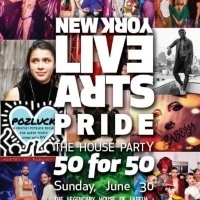 Lineup Announced for LIVE ARTS PRIDE 2019: THE HOUSE PARTY - 50 FOR 50 Photo