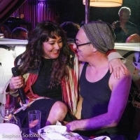 Photo Coverage: Alan Cumming Visits Frances Ruffelle at The Green Room 42