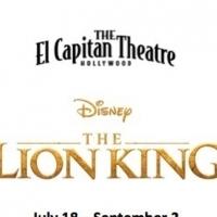 El Capitan Theatre Presents Disney's THE LION KING Photo