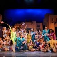 Cast of Bucks County Playhouse's MAMMA MIA! Celebrates The 4th July Photo