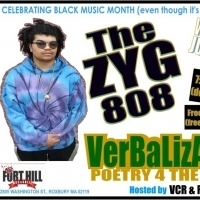 Verbalization Spoken-word Series to Feature The ZYG 808