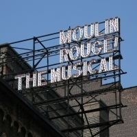 Up On The Marquee: MOULIN ROUGE! The Musical on Broadway Photo