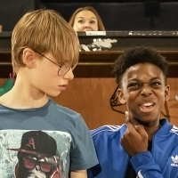 Photo Flash: In Rehearsal with THE SECRET DIARY OF ADRIAN MOLE AGED 13 3/4