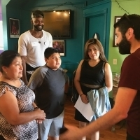Fountain Theater Brings Cops, Kids Together for Community Building Program Photo