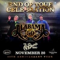ALABAMA Reveals '50th Anniversary End of Tour Celebration' Set for Nashville's Bridge Photo