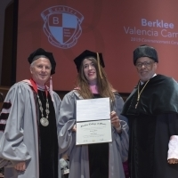 Imogen Heap Receives Honorary Doctorate in Valencia, Spain Photo