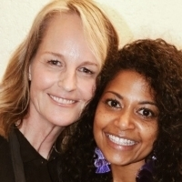 Photo Flash: Helen Hunt, Laura Osnes and More Visit OKLAHOMA!
