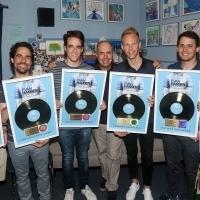 Photo Flash: DEAR EVAN HANSEN Team Celebrates Album Going Gold