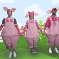 Squealing With Delight For Maine State Music Theatre's THREE LITTLE PIGS Photo