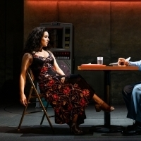 Photo Flash: Get A First Look At Chilina Kennedy And Sasson Gabay in THE BAND'S VISIT Photo