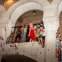 Photo Coverage: MOULIN ROUGE! Cast Celebrates First Preview on the Fire Escape at the Photo