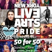 Lineup Announced For New York Live Arts Pride 2019 House Party