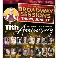 Broadway Sessions Celebrates 11th Anniversary With All Star Concert