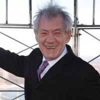 Sir Ian McKellen Launches Panto Ticket Giveaway With Bucket Collection Photo