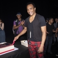 Photo Flash: AIN'T TOO PROUD Celebrates 100th Broadway Performance!