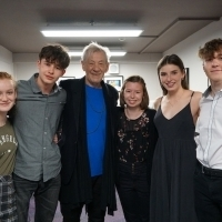 Young Actors Get Masterclass From Sir Ian McKellen at Exeter Northcott Theatre Photo