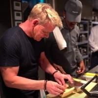 VIDEO: Gordon Ramsay Teaches Lil Nas X How To Make A Panini Photo