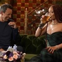 VIDEO: Rihanna and Seth Meyers Go Day Drinking