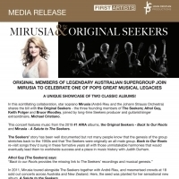 Original Members Of Legendary Australian Supergroup Join Mirusia To Celebrate One Of  Photo
