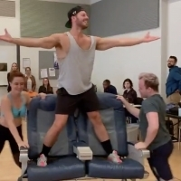 VIDEO: Watch Dancers Strip Down in Rehearsal for Broadway Bares: Take Off! Photo