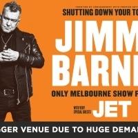 Jimmy Barnes Announces Melbourne Venue Upgrade Due To Huge Demand