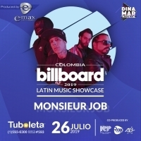 Monsieur Job to Perform at the Colombia Billboard Latin Music Showcase