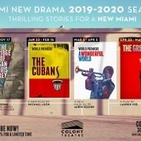 Miami New Drama Announces 2019-2020 Season