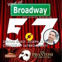 The 'West of Broadway' Podcast Chats PHANTOM Tour, SHERLOCK HOLMES, and with Joseph C Photo