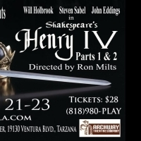 BWW Review: Excellent HENRY IV PARTS 1 AND 2 Gets Three More Performances at Archway