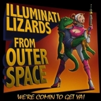 ILLUMINATI LIZARDS FROM OUTER SPACE at the New York Musical Festival Photo