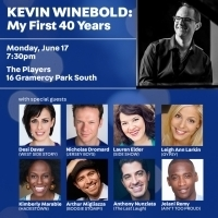 Kevin Winebold Hosts Broadway Birthday Benefit, June 17