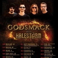 Godsmack Extend 2019 Summer Tour Dates, UNDER YOUR SCARS #5 on Active Rock Chart