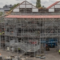Building Work Begins On Shakespeare's Rose TheatreIn York Photo