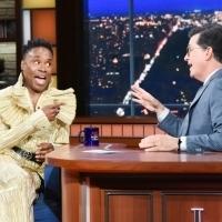VIDEO: Billy Porter Helps Stephen Colbert Enhance His Look