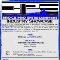 New Local Artist Driven Company Presents Free Showcase
