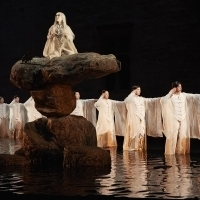 ANTIGONE Combines Japanese Noh, Shadow Play at Park Avenue Armory