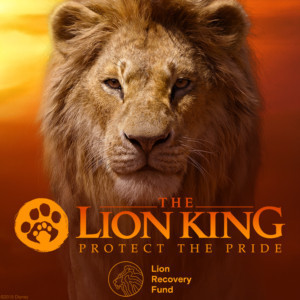 Disney and The Lion Recovery Fund Announce THE LION KING 'Protect the Pride' Campaign