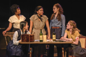 BWW Review: The Female Heroines You Didn't Know You Needed in THREE MUSKETEERS: 1941