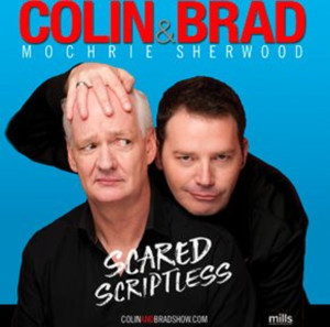 Colin & Brad's SCARED SCRIPTLESS Tour Comes To Hershey Theatre