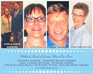 Millbrook Board of Directors Honors its Best at Royalty Dinner