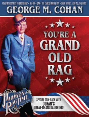 La Mirada Presents YOU'RE A GRAND OLD RAG