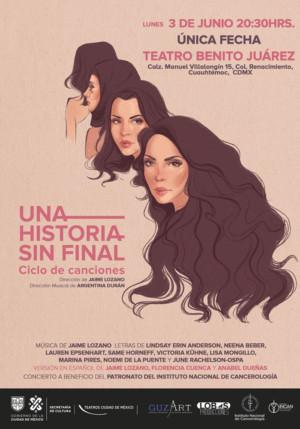 A NEVER-ENDING LINE / UNA HISTORIA SIN FINAL Ciclo de Canciones, un nuevo logro de JAIME LOZANO