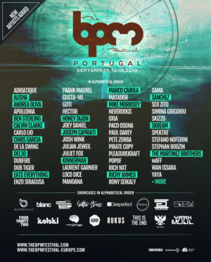 The BPM Portugal Festival Adds Marco Carola, Skream, Honey Dijon and More