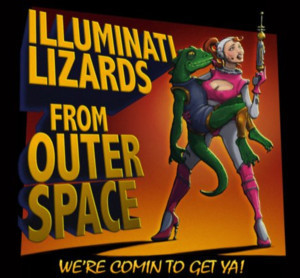 ILLUMINATI LIZARDS FROM OUTER SPACE Comes to NYMF
